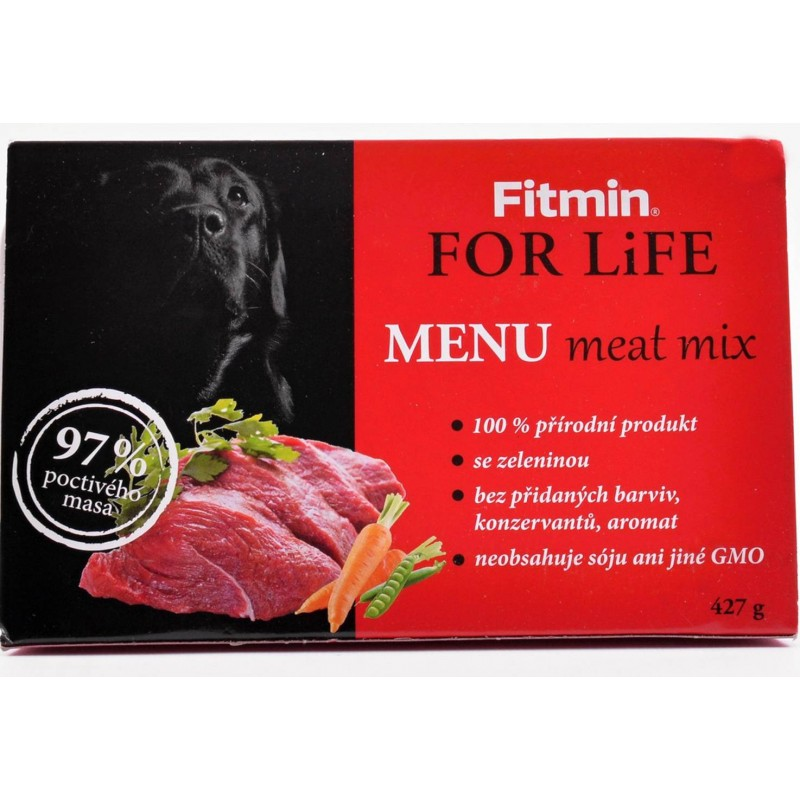 Fitmin For Life Menu Meat Mix 427 gr