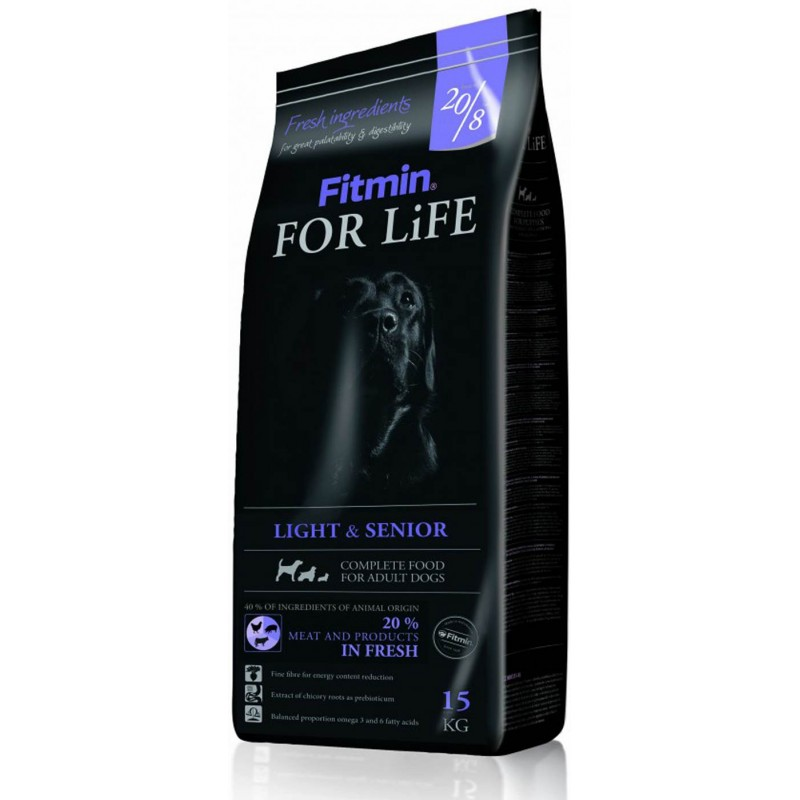 Fitmin For Life Light & Senior 15 кг