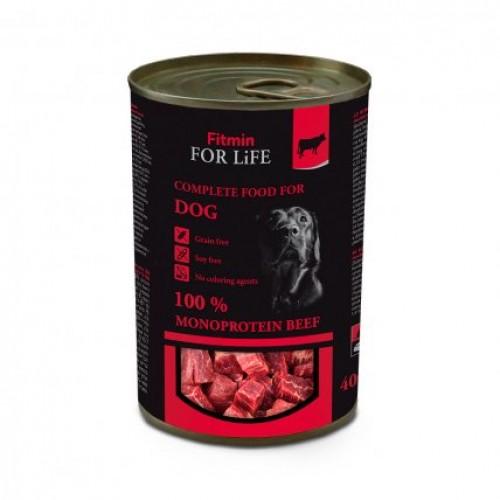 Консервированная говядина для собак 400 гр