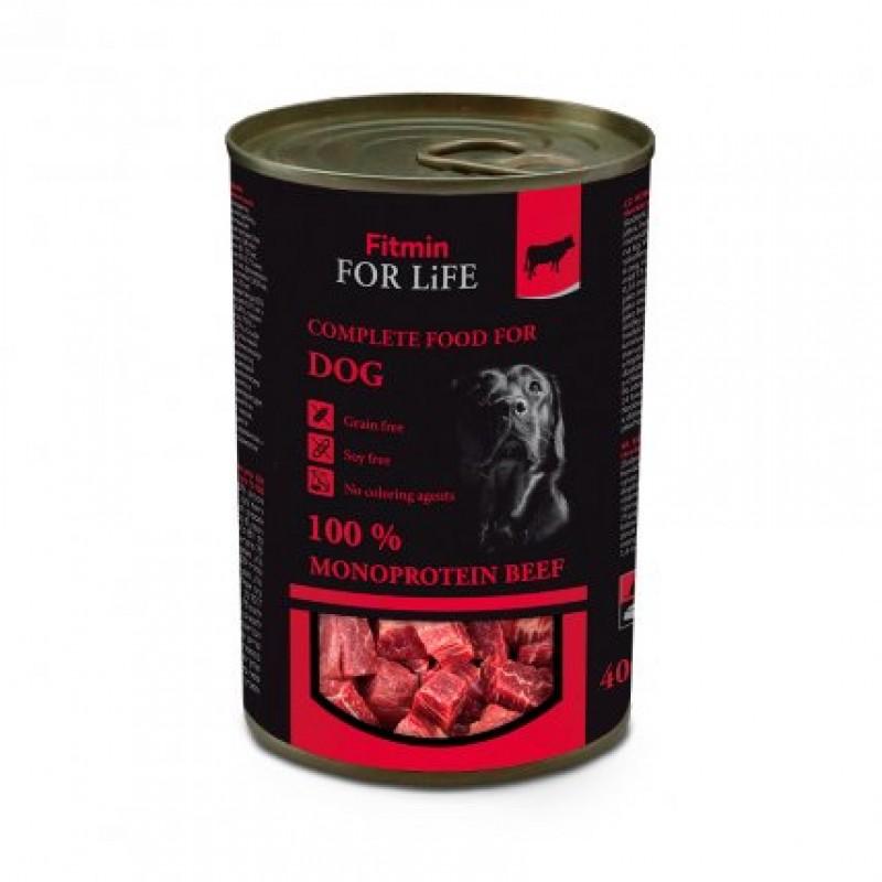 Conserve de vită pentru câini 400 gr