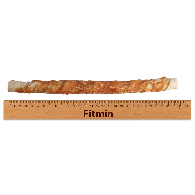 Fitmin For Life dog treat rawhide stick 28cm with chicken 500g