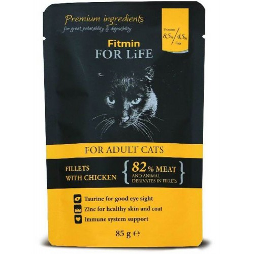 Fitmin For Life Adult fillets chiken 85g