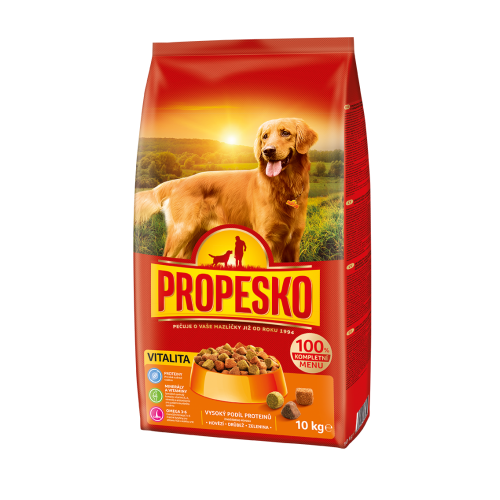 Propesko Dog VITALITY poultry, beef, vegetables 10kg