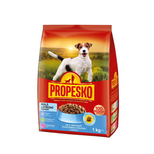 Propesko small and medium dog 1kg