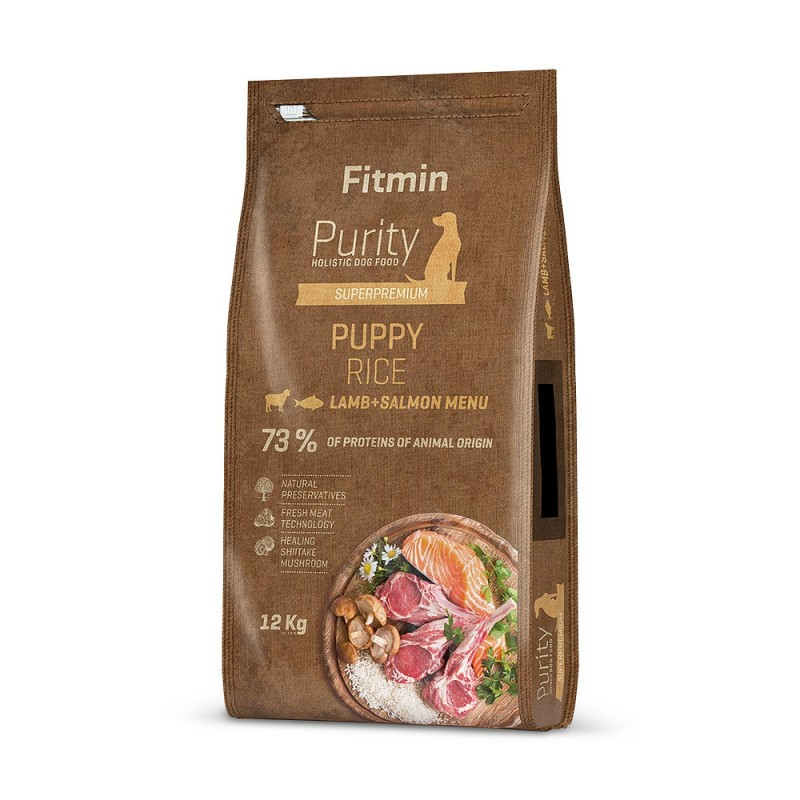 Fitmin Purity Rice Puppy Lamb&Salmon 12kg