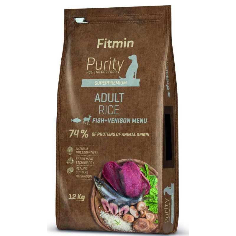 Fitmin Purity Adult Rice 12 kg