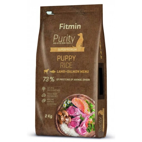 Fitmin Purity Rice Puppy Lamb&Salmon 2kg