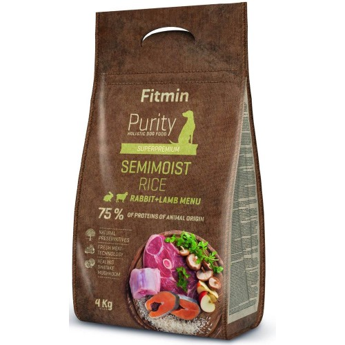 Fitmin Purity Rice Semimoist Rabbit 4 кг