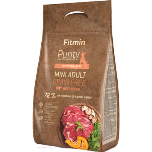 Fitmin Purity Adult Mini Beef 4 кг
