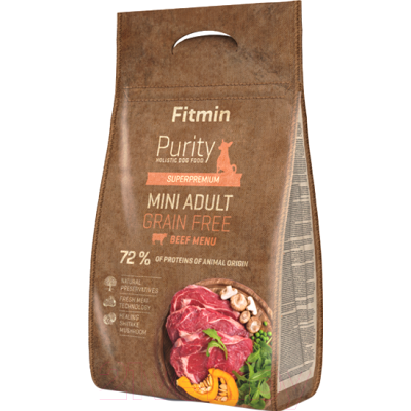 Fitmin Purity Adult Mini Beef 4 кг