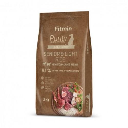 Fitmin dog Purity Rice Senior&Light Venison&Lamb 2 kg